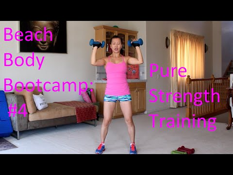 STRENGTH & ABS for Maximum FAT LOSS. Beach Body Bootcamp #4