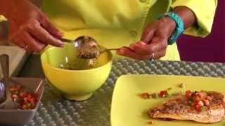 Filet De Vivaneau Sauce Vierge Et Tapenade - Inn Ti Grin En +