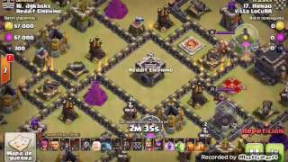 Th9 vs Th9: Queen Walk + Laloon (Henao - Villa Locura - Clash Of Clans)