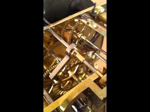 Antique Clock Video - Barrauds Bracket Clock