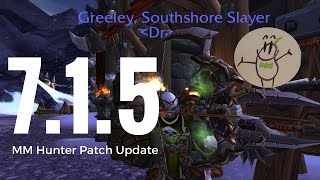 Marksman Hunter 7.1.5 Stat Priority, Opening Rotation, Talents