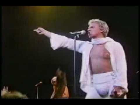 Malcolm McDowell sings as Reggie Wanker:GET CRAZY-Special Music Edit