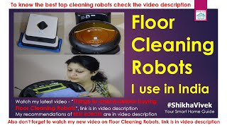 Robotic Vacuum Cleaners I use in India + Home Automation,Dry & Wet Mopping Floor Robot, iRobot, Demo