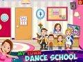 My Town : Dance School Part 1 - iPad app demo for kids - Ellie
