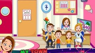 My Town Dance School Part 1 IPad App Demo For Kids Ellie