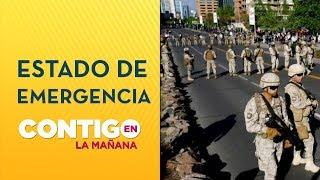 Polémica por militares disparando en Las Condes - Contigo en La Mañana