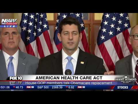 FNN: Paul Ryan Introduces American Health Care Act, House GOP's Obamacare Replacement