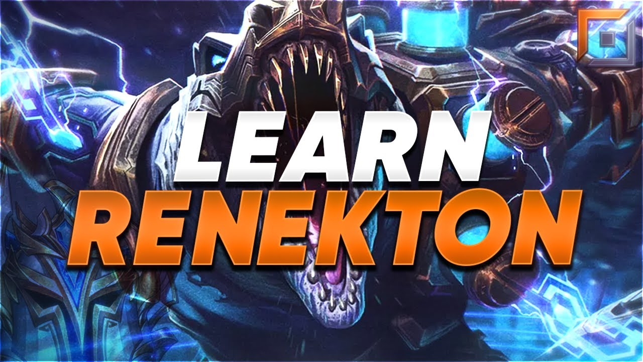 The Only Renekton Guide You Need Watch My New Season 11 Renekton Guide Instead Youtube