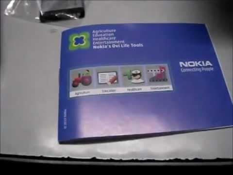 Nokia C1-01 Unboxing