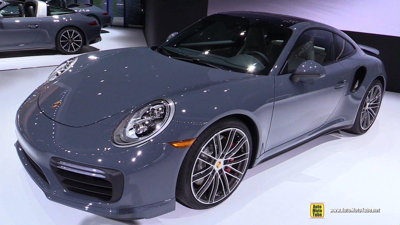 porsche 911 turbo black interior. 2017 porsche 911 turbo exterior and interior walkaround debut at 2016 detroit auto show youtube black
