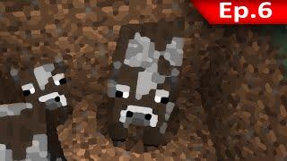 Tackle⁴⁸²⁶ Minecraft (1.8.7) #6 - พาวัวมาเที่ยวบ้าน