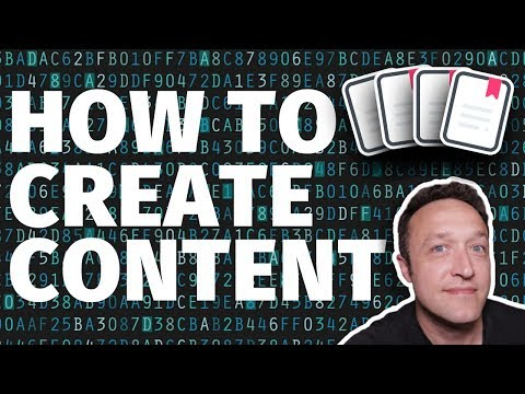 How to CREATE CONTENT for your AFFILIATE MARKETING WEBSITE