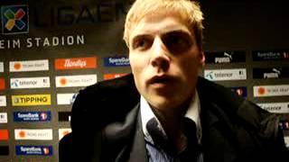 Isberget-TV Ruben Yttergård Jenssen intervjues etter TIL-Brann 2-0.MPG