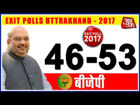 Exit Poll On Uttrakhand Assembly Election By Aaj Tak