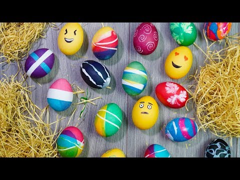 Coloring Easter Eggs | Easter Egg Decorating Ideas