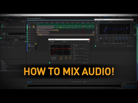 Sound Mixing a Short Film - Tutorial