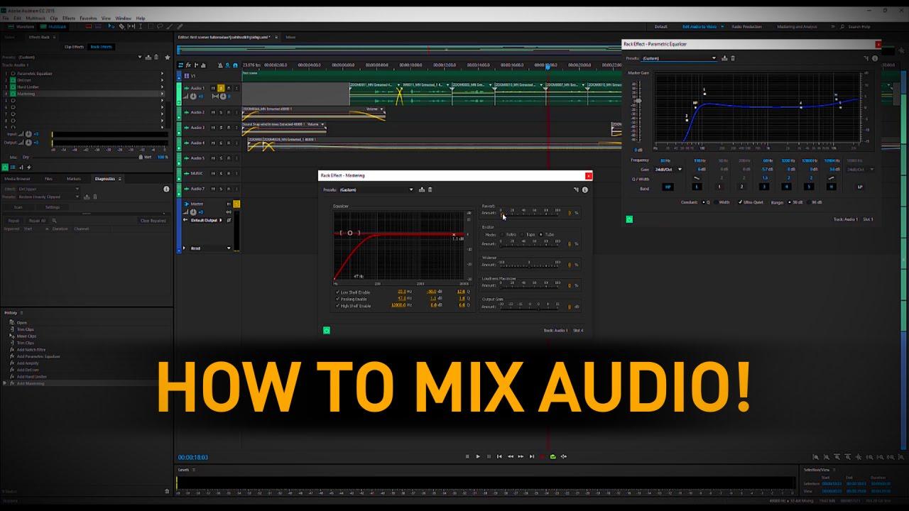 Sound Mixing a Short Film - Tutorial