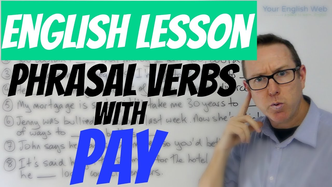 English In Italian: Phrasal Verbs With PAY