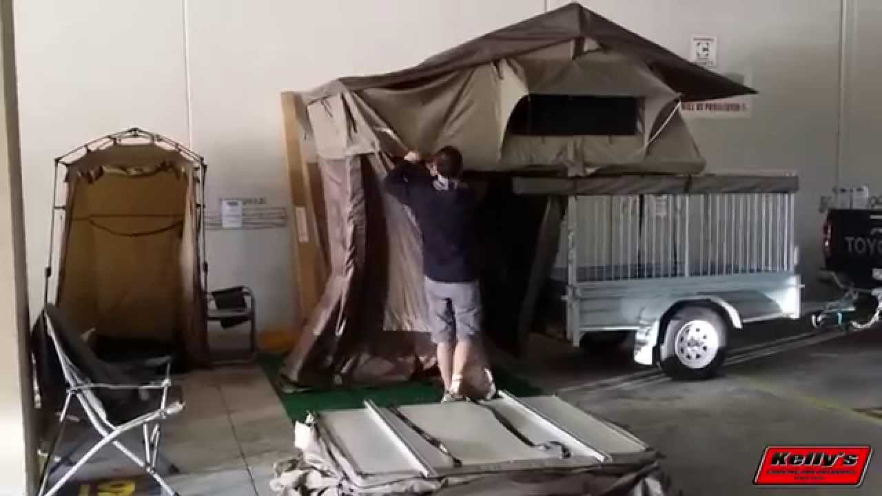 Darche Panorama 2 Roof Top Tent Set Up Youtube