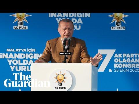 Turkey's Erdoğan questions Macron's mental state