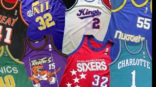 NBA/MLB/NFL Jersey Collection