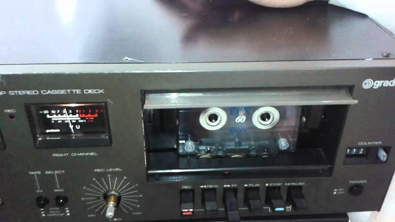 Tape Deck Cl U00c1ssco Da Gradiente Mod S95