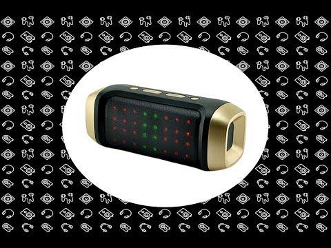 Bluetooth Мини Колонка с MicroSD USB FM-радио Светомузыкой JY-23A