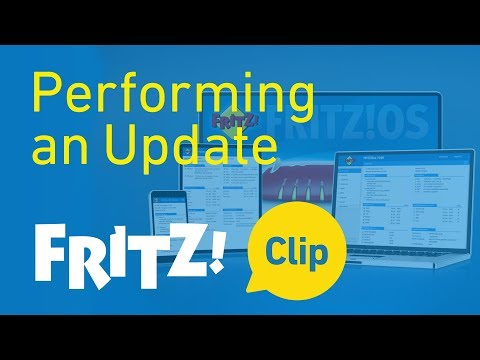 AVM FRITZ! Clip: FRITZ!OS - Performing an Update