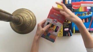 Обзор и сравнение цветных карандашей. Мапед в фаворитах