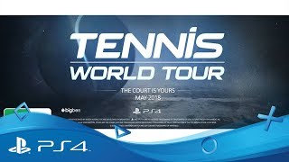 Tennis World Tour | Career Mode | PS4