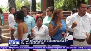 Matrimonio colectivo se realizó en el municipio Francisco Linares Alcántara 14-06-2014