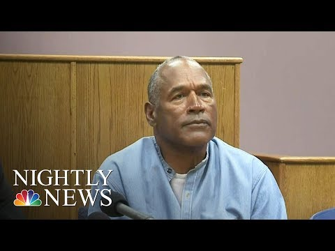 O.J. Simpson Granted Parole | NBC Nightly News