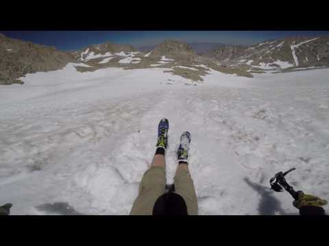 4th of July glissading on Mt Whitney