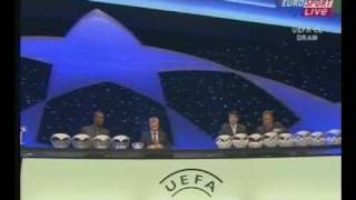 UEFA Champions League Group Stage 07-08 Draw Part 3