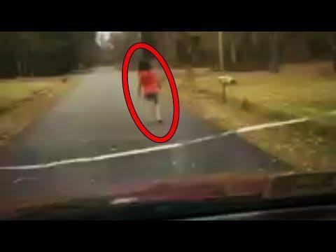 Araba Kameralarına Yakalanan En Korkutucu 10 Şey