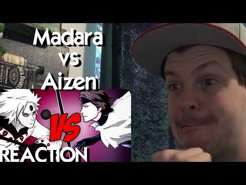 Madara Uchiha VS Sosuke Aizen | Naruto Shippuden VS Bleach REACTION