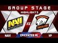 NaVi vs VP [EPIC] EPICENTER XL Major 2018 Highlights Dota 2