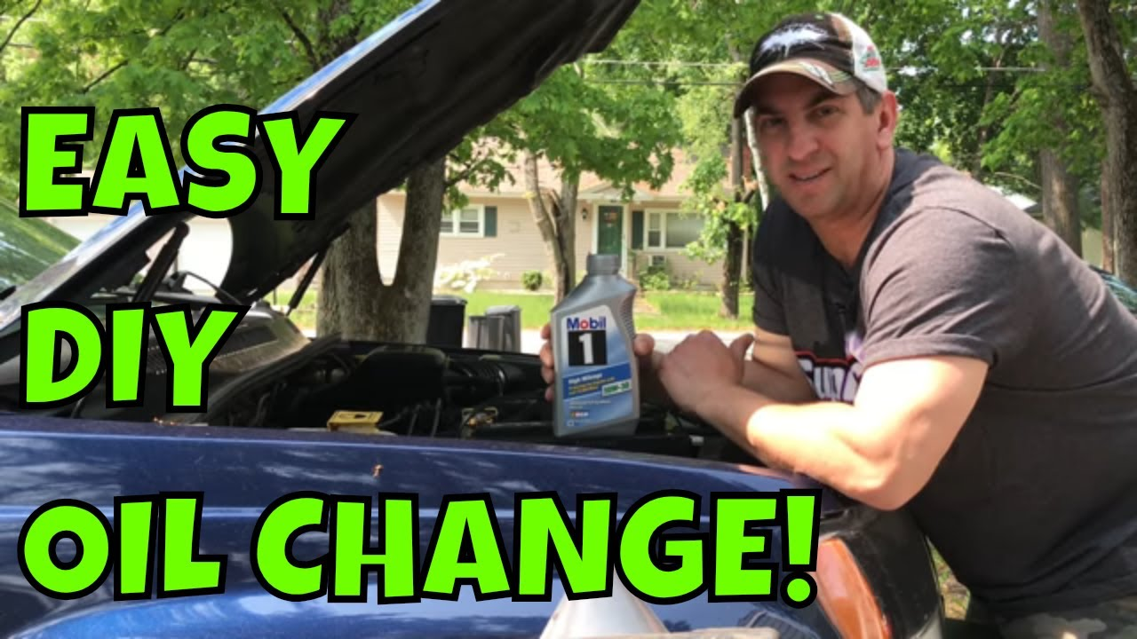 How To Do An Oil Change On A 1999 2004 Jeep Grand Cherokee 40 Youtube Fuel Filter Location