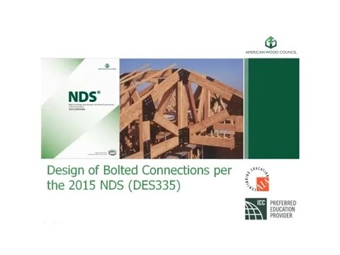 DES335 - Design Of Bolted Connections