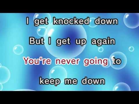 Chumbawamba – Tubthumping (Karaoke and Lyrics Version)