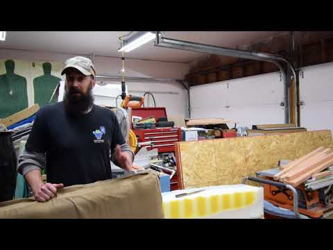 making-memory-foam-dog-bed-from-old-matress