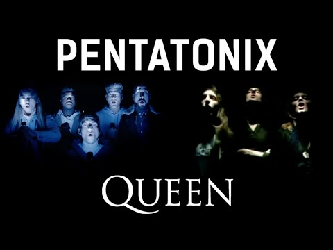 Bohemian Rhapsody - Pentatonix & Queen (side by side)