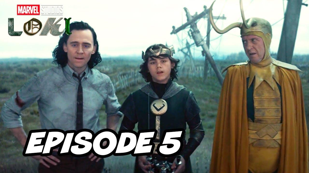 Download Loki Episode 5 Marvel TOP 10 Breakdown Easter Eggs and Ending Explained