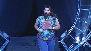 The three faces of Foley enter the 1998 Royal Rumble Match