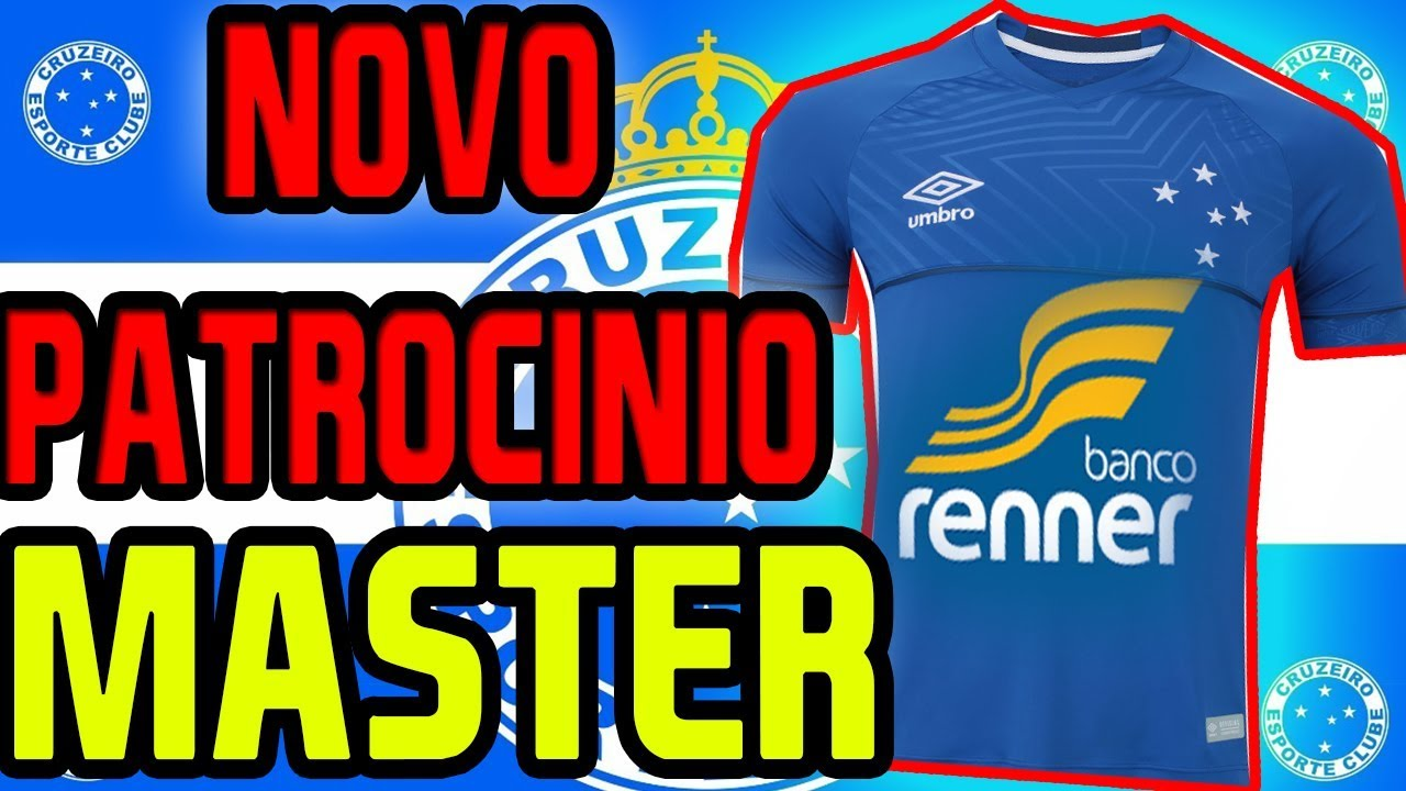 fd08e0c925 NOVO PATROCINADOR MASTER DO CRUZEIRO !!!! - YouTube