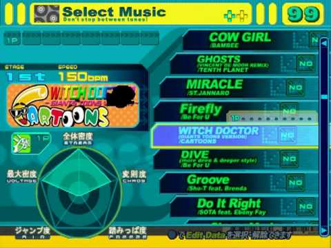 DDRMAX PS2 (JP) - FULL Song list Line Record