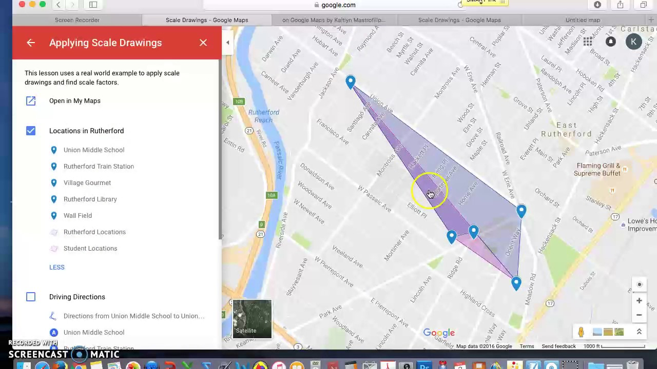 Apply Scale Factor to Google Maps