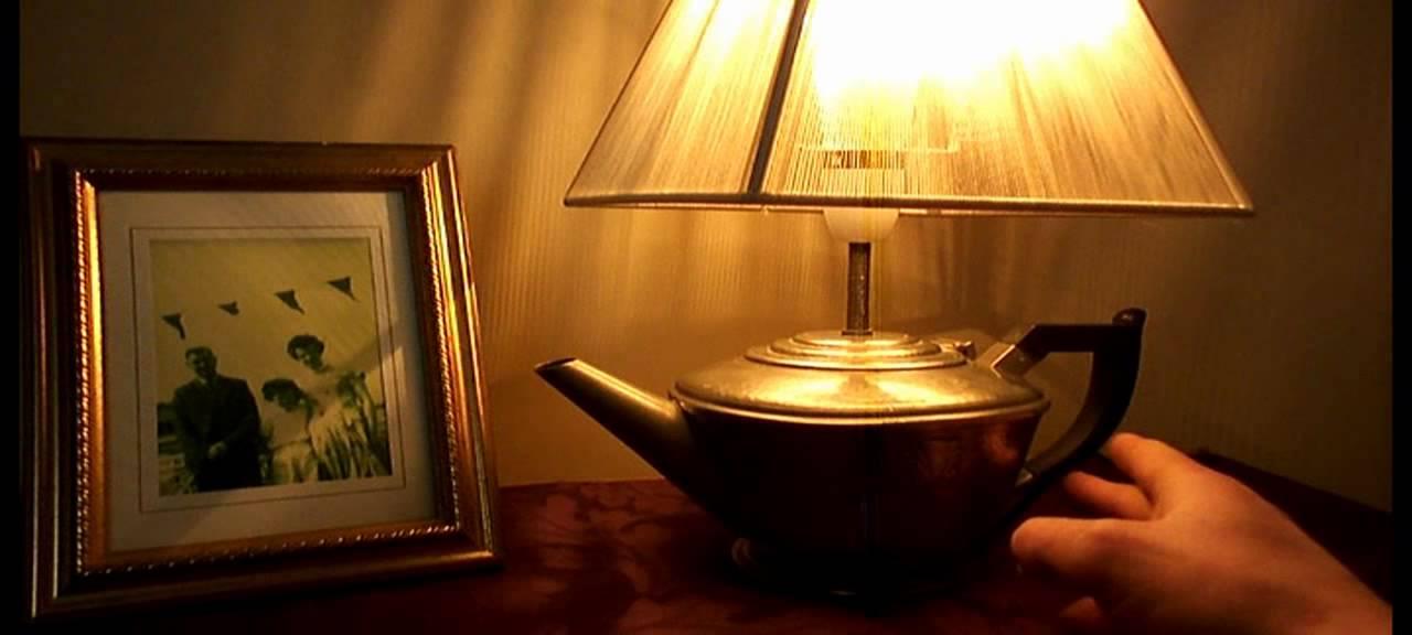 VINTAGE JAMES DIXON ART DECO STYLE PEWTER TEA POT TOUCH