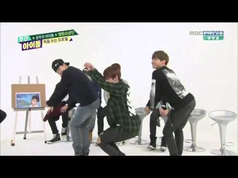 BTS - Weekly Idol Girl Group Dance Cut 140330 - BTS video