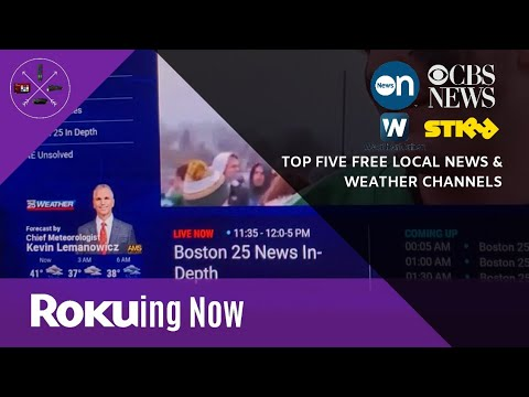Top 5: Free Local News & Weather Channels